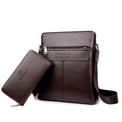 Vertical Type Men's Shoulder Bag(..