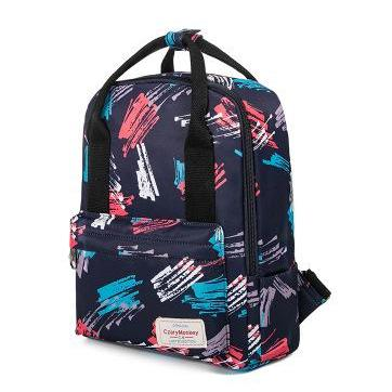 Dual-purpose Printing Canvas Backpa..