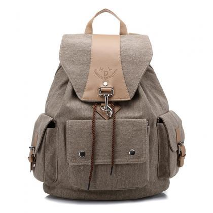 Casual Canvas Unisex Travelling Bac..