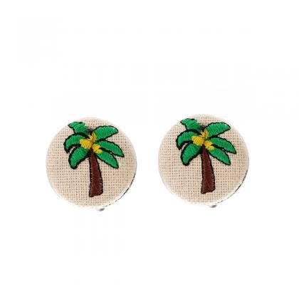 Temperament Embroidery Pineapple Ca..