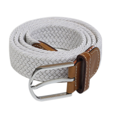 Elastic Belt Knitted Canvas Belt De..