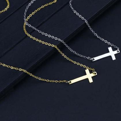 New Fashion Cross Pendant Necklace ..