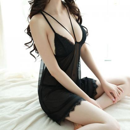 Lace Nighties Night Dress Womens Ni..
