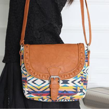 New Fashion Retro Women Canvas Adju..