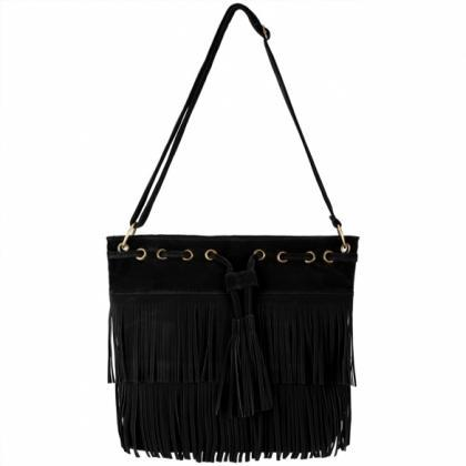 Zeagoo Fashion Women Lady Tassel So..