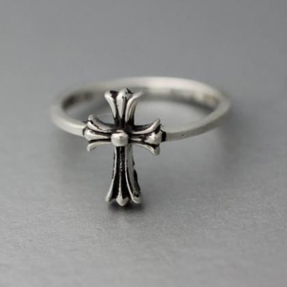 Adjustable cross ring