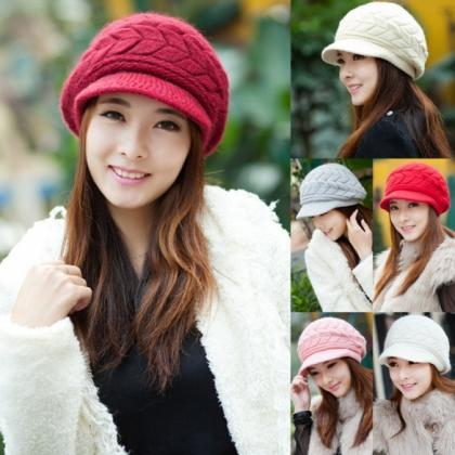 Women's Fashion Autumn Winter Knitt..