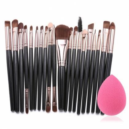 20pcs Makeup Brushes Kit Powder Fou..