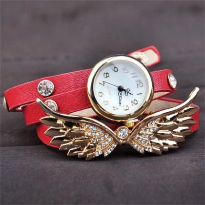 Wing Bracelet Watch Quartz Movement..
