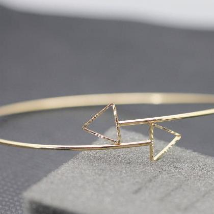 Simple Fashion Hollow Triangle Arm ..