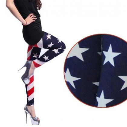 New Women Stars and Stripes USA Ful..