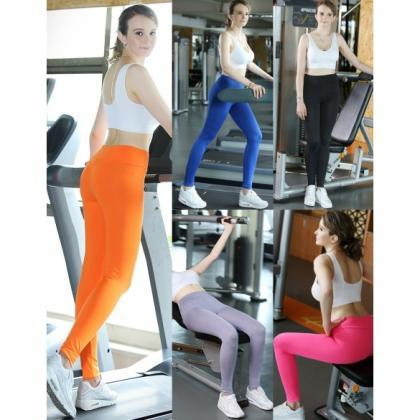 Women High Waist Sport Running Yoga..