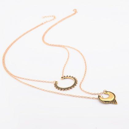 Street Snap Carving Crescent Moon D..