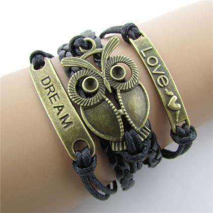Dream Love Owl Multielement Colored..