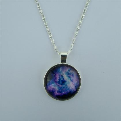 Beautiful Starry Sky Diamond Pendan..
