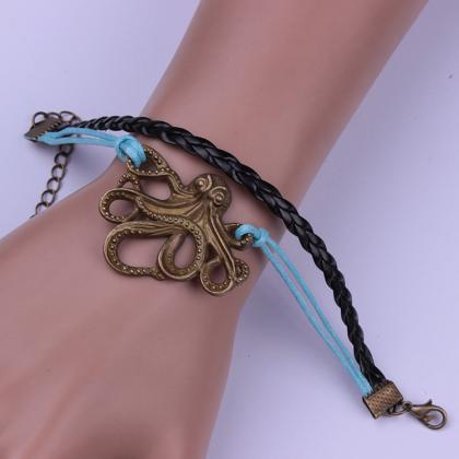 Personality Octopus Multilayer Wove..