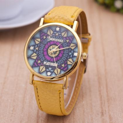 Fashion Design And Color Watch Magi..