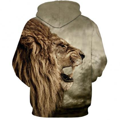 Nostalgic Lion 3D Digital Printing ..