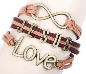 Jesus Love Brown Lea..