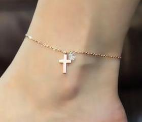 Fashion Cross Anklet..
