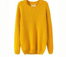 Loose Knit Pullover ..