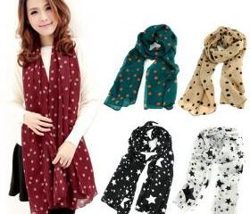 Dots Spot Chiffon So..