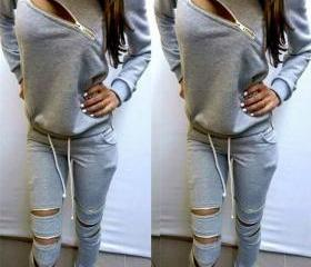 Zipper Cutout Sports..