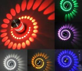 Spiral 3W LED Wall H..