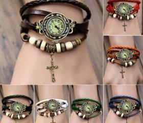 Women's Quartz Cross..