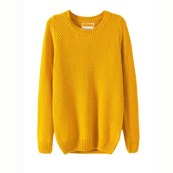 Loose Knit Pullover Sweaters