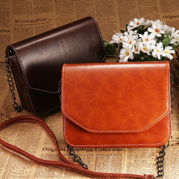 New Fashion Retro Style Women's Synthetic Leather Shoulder Bag Cross Bag Messenger Bags