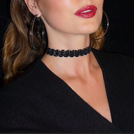 Elegant Joker Wavy Collar Necklace