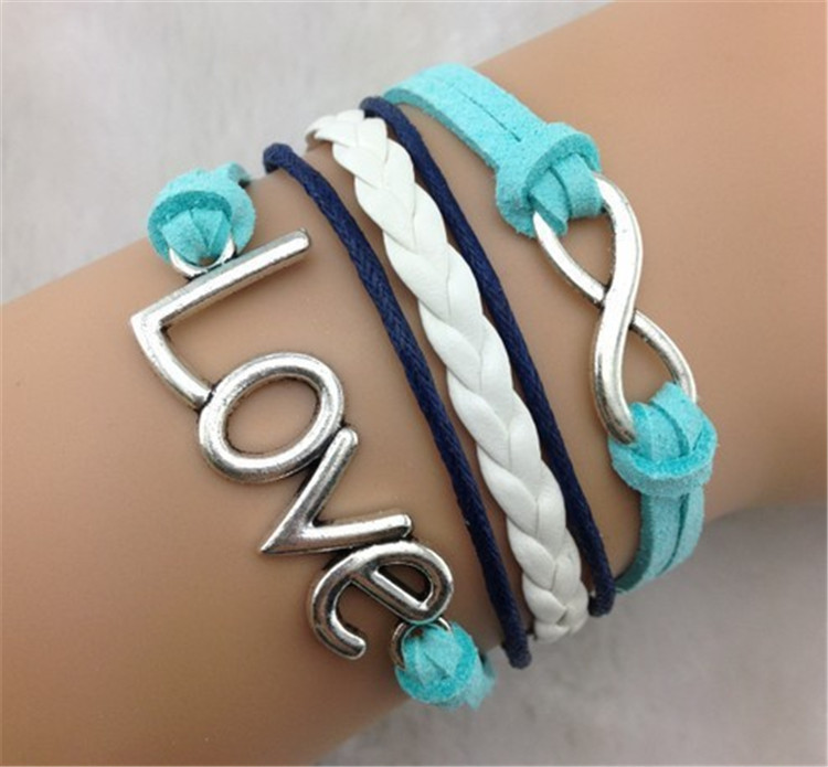 Joker LOVE Retro Eight Multi-layer Bracelet