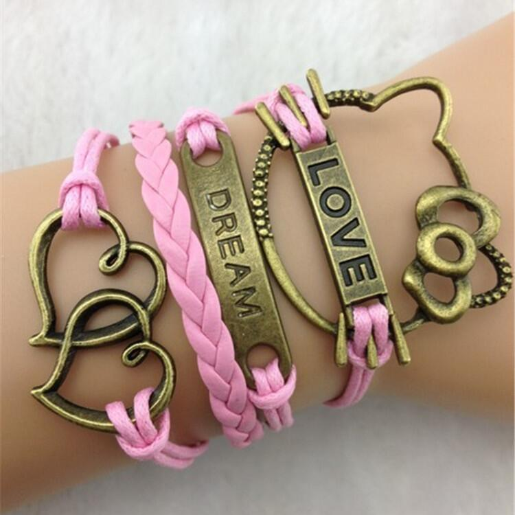 LOVE DREAM Multielement Colored Bracelet