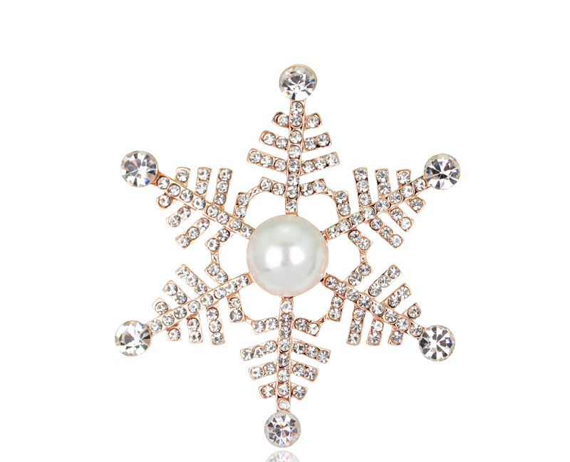 Fashion accessories exquisite pearl brooch