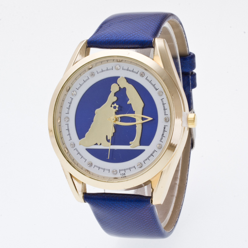 Romantic Marriage Love Fashion 3D Watch