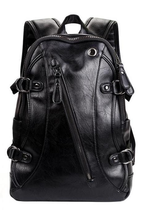 Solid Men Backpack