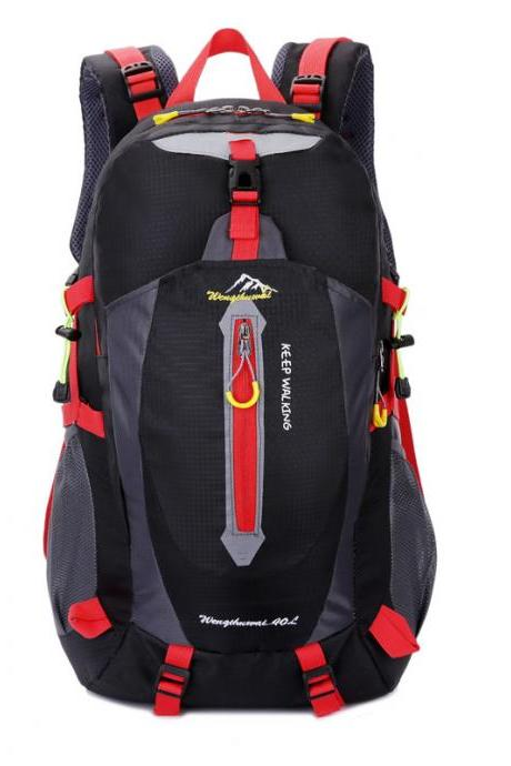 Nylon Pockets Travel Backpack