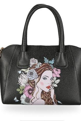 Original Beauty Print Shell Women Satchel