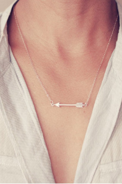 Fashion Restoring Ancient Ways Alloy Arrow Necklace