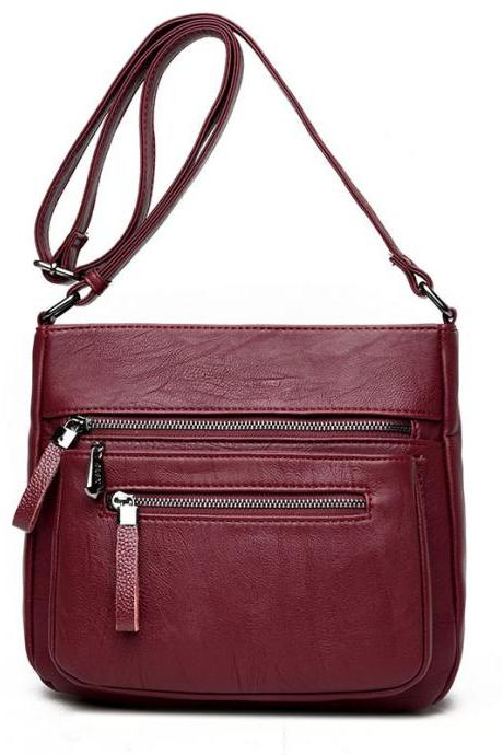 Practical Belt Decorated Crossbody Bag