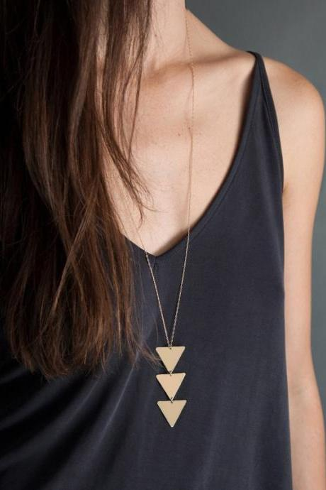 NEW pendant Necklace geometric Long Chain Women choker Necklace
