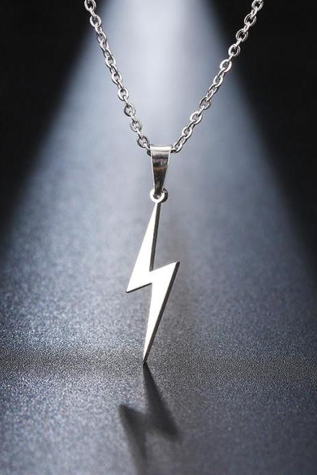 Stainless Steel Necklace Hot Lightning Necklaces For Women