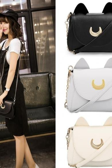 Cosplay PU Leather Women Girls Handbag Shoulder Bags
