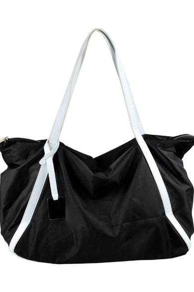 Women's Girls Fashion Concise Casual Large Shopper Tote Bag Shoulder Bag Handbag