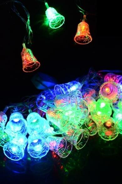 New 5M 28 LED Small Bell String Fairy Light festival Party Wedding Decoration