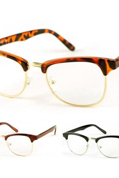 New Korean Framed Glasses Plain Glass Spectacles