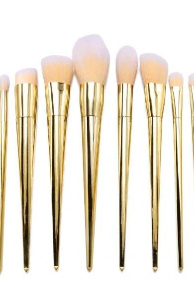 12pcs Makeup Brushes Cosmetic Powder Blush Contour Foundation Eyeshadow Lip Make-up Brush Set