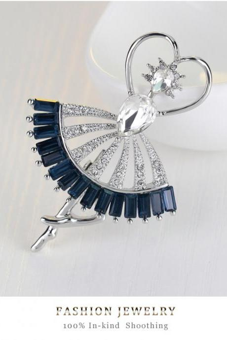 Fashion Dance villain alloy Brooch