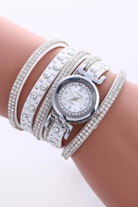 Beautiful Crystal Snowflake Women's Watch